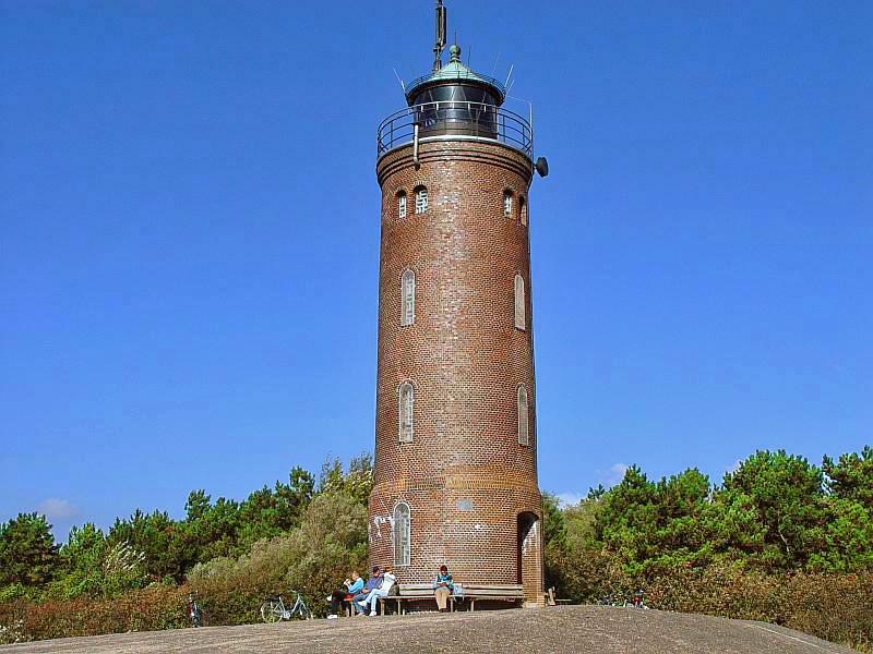 Ferienwohnung Tating: Foto Leuchtturm St. Peter-Böhl